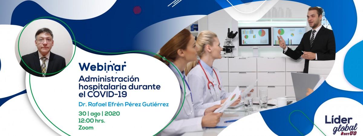 master class administracion hospitalaria covid-19