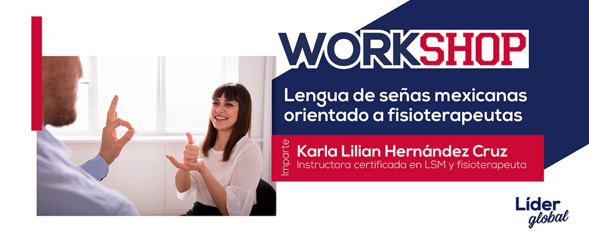 workshop lengua de señas mexicanas orientado a fisioterapeutas