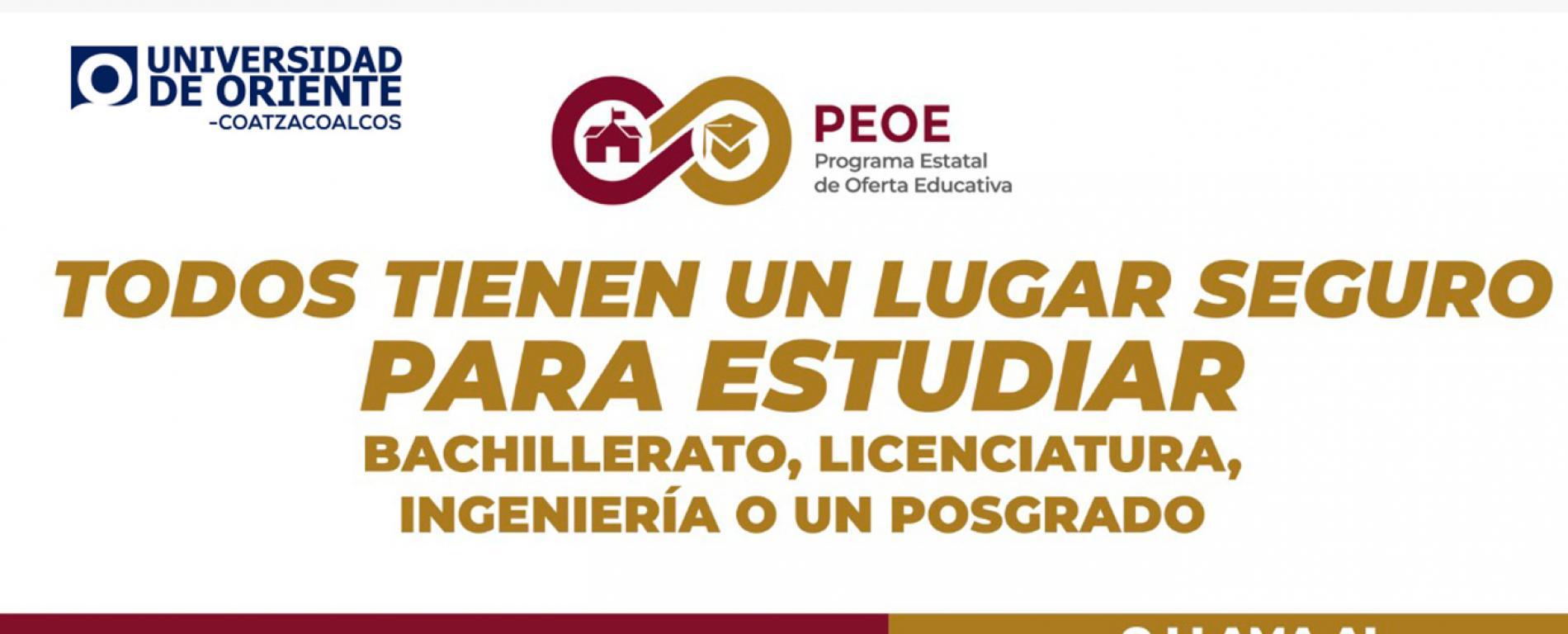 Programa estatal de oferta Educativa