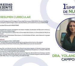 Simposium Nutricion Yolanda